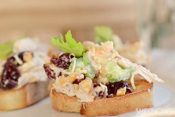 Lemon Chicken Salad On Crostini Recipes — Dishmaps
