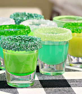 candy infused vodka shots