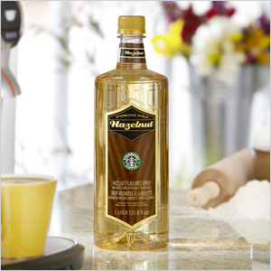 Hazlenut syrup from Starbucks