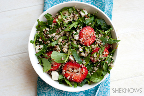 Quinoa Salad Recipe With Blueberries, Strawberries And Watermelon ...