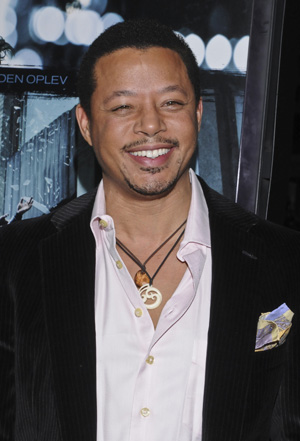 Terrence Howard at a premiere