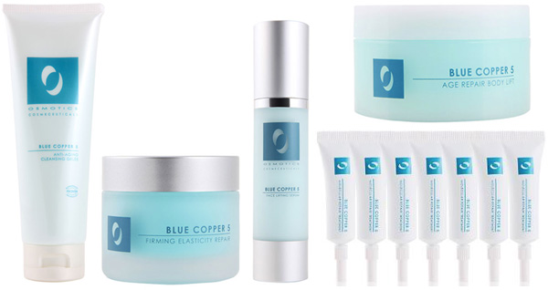 A (blue) skin care line that works!