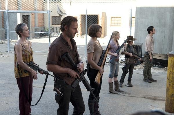 The Walking Dead gang