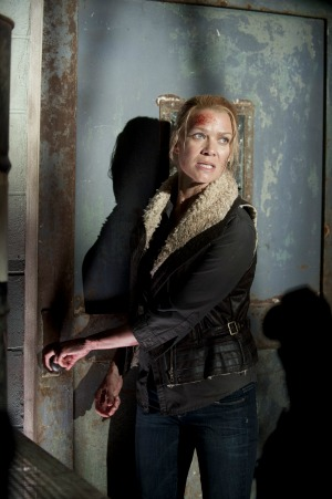 Laurie Holden as Andrea in The Walking Dead season 3 episode 14
