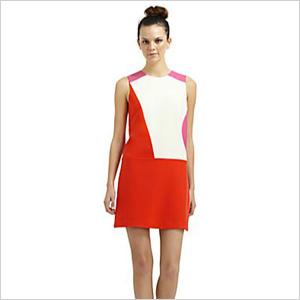 mod mini sheath dress