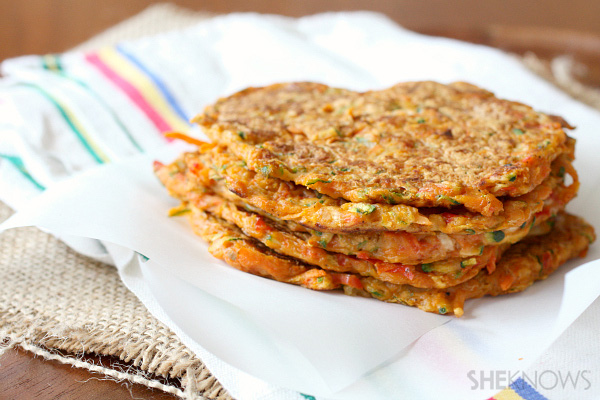 Vegetable Packed Pancakes
