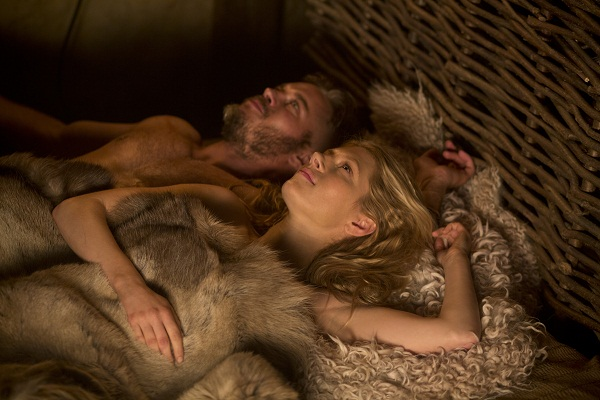Vikings Ragnar and Lagertha