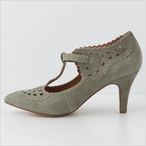 Vintage inspiration art deco style shoes