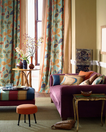 Hues to warm up your home