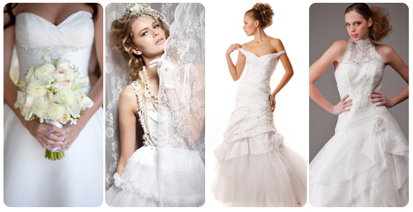 Pick the perfect bridal gown