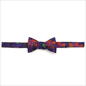 Duchamp floral bow tie