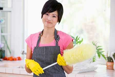Give your home A cleaning that'll last
