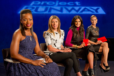 Tracy Reese on Project Runway