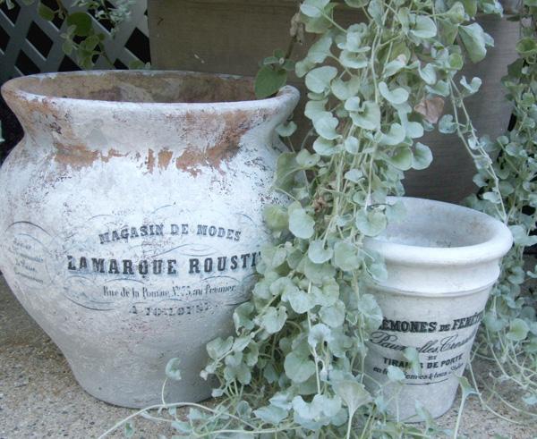 French Flower Pot Design