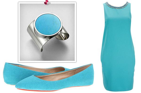 Turquoise fashion