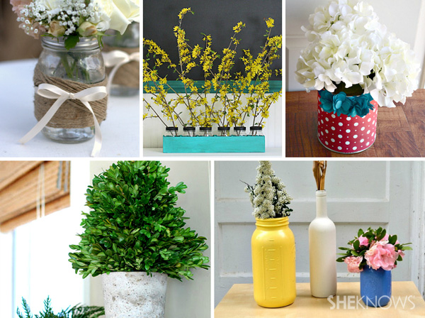 5 Shabby chic Memorial Day centerpiece ideas