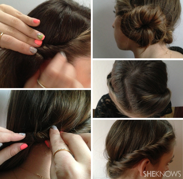 Easy updos, just in time for wedding season