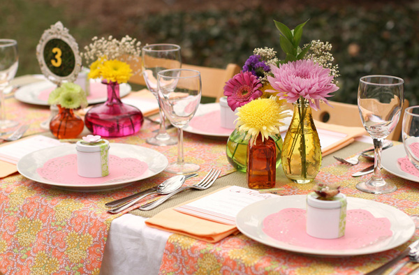 6 low cost ideas for your garden wedding With low cost wedding ideas
