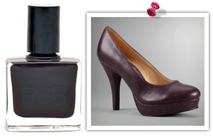 Hot heels, hotter polish