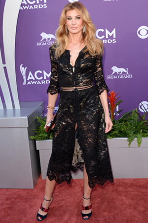 Faith Hill at the 2013 ACM Awards