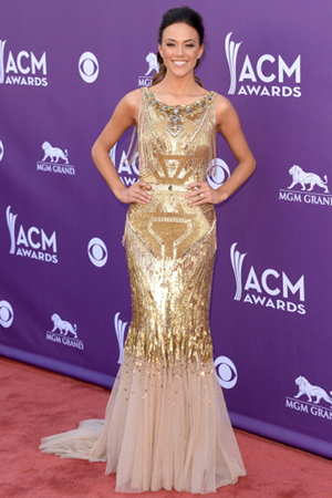 Jana Kramer at the 2013 ACM Awards