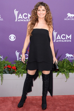 Shania Twain at the 2013 ACM Awards