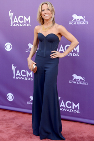 Sheryl Crow at the 2013 ACM Awards