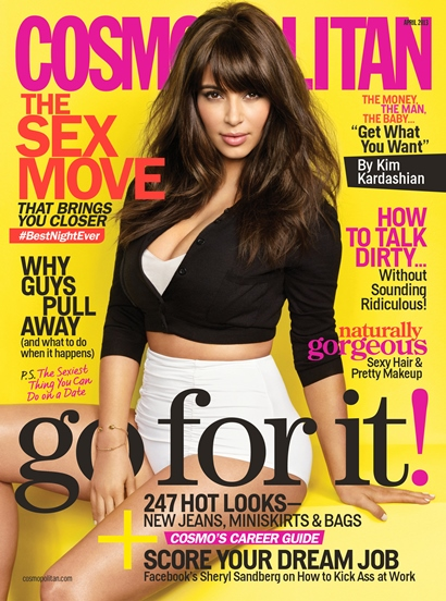 Kim Kardashian - Cosmopolitan cover