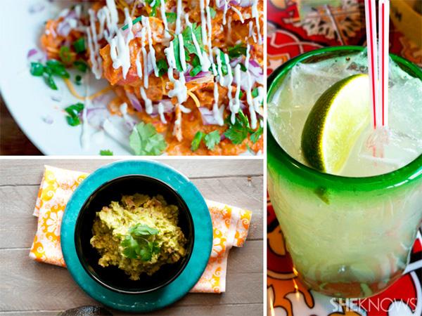 3 recipes for A Cinco De Mayo celebration