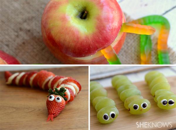 3 Edible creepy crawlies