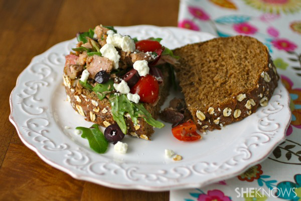 Mediterranean Tuna Salad Sandwiches