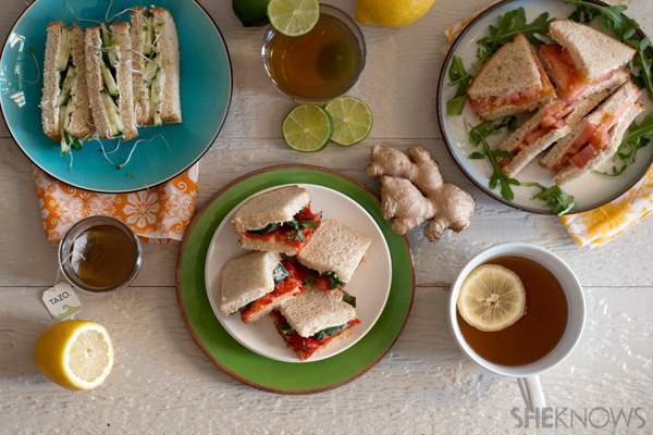 Recipes for a Mother's Day tea party