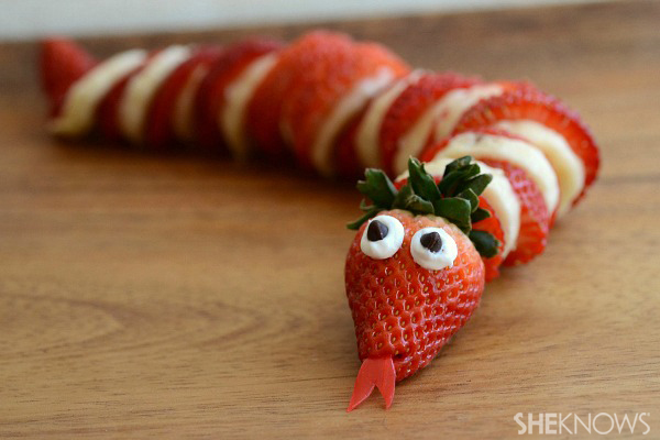 Sweet strawberry snakes