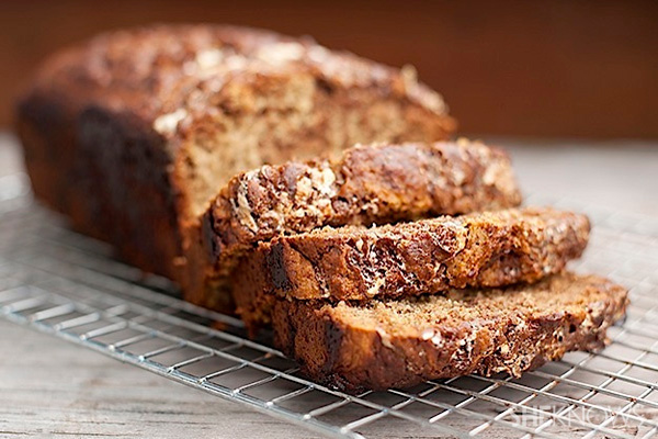 Chocolate fluffernutter banana bread