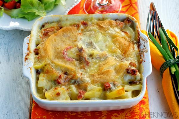 Tartiflette: French potato, onion & cheese gratin recipe