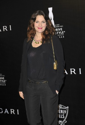 Drew Barrymore talks about being a stay-at-home mom