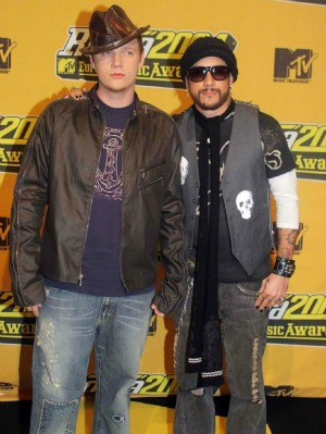 BSB's Nick Carter and Howie Murdaugh