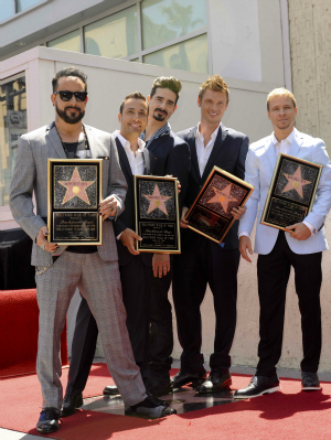 The Backstreet Boys Hollywood Walk of Fame