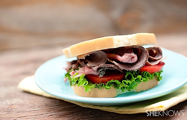Easy homemade lunch meat