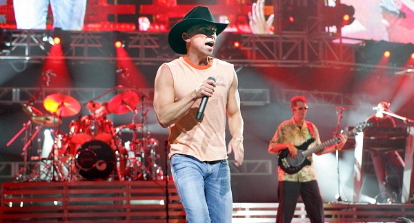 Kenny Chesney is cut