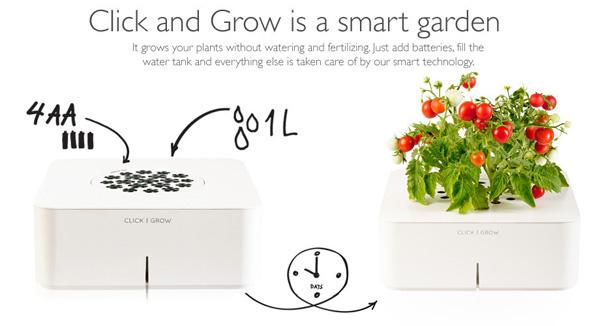 Click & Grow garden