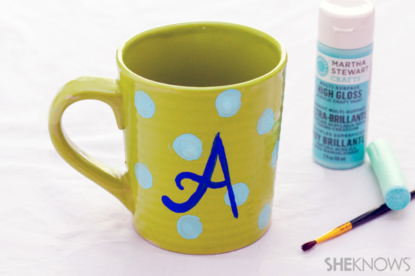 Monogram Mother's Day mug