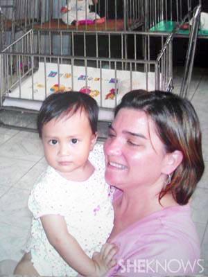 Adoption photo of Geneva and Marli