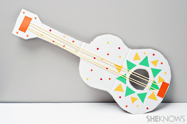 Cinco de Mayo crafts - Mariachi guitars