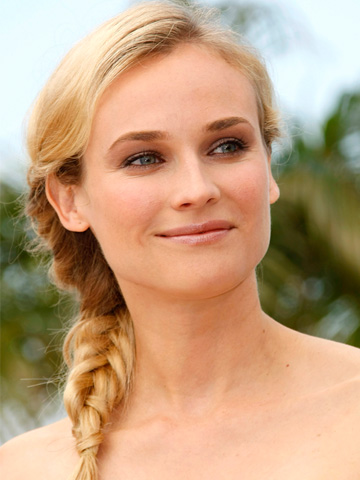 Diane Kruger - Braided hairstyle