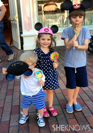 Family Photo Fail - The Broadus kids