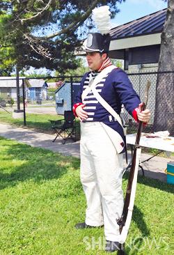 Homeschool vacation - Colonial soldier