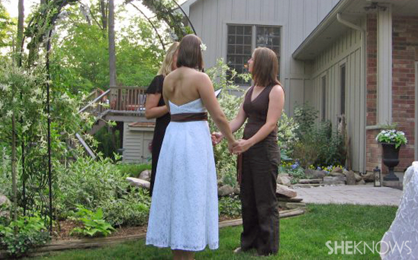 Robyn and Melissa's wedding