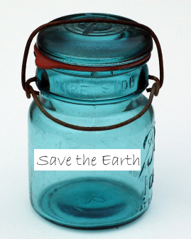 Earth Day jar