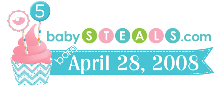 BabySteals.com's 5th Birthday